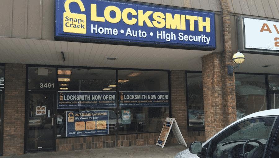 image of Snap & Crack Locksmith's Whitehall storefront
