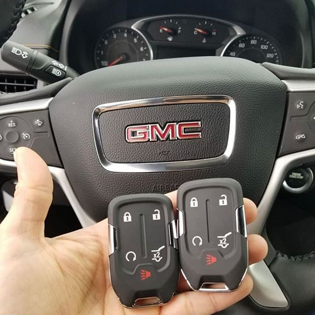 Two new remotes for a GMC.