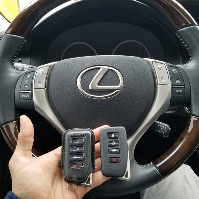 This Lexus owner wanted two extra fobs programmed for family members.